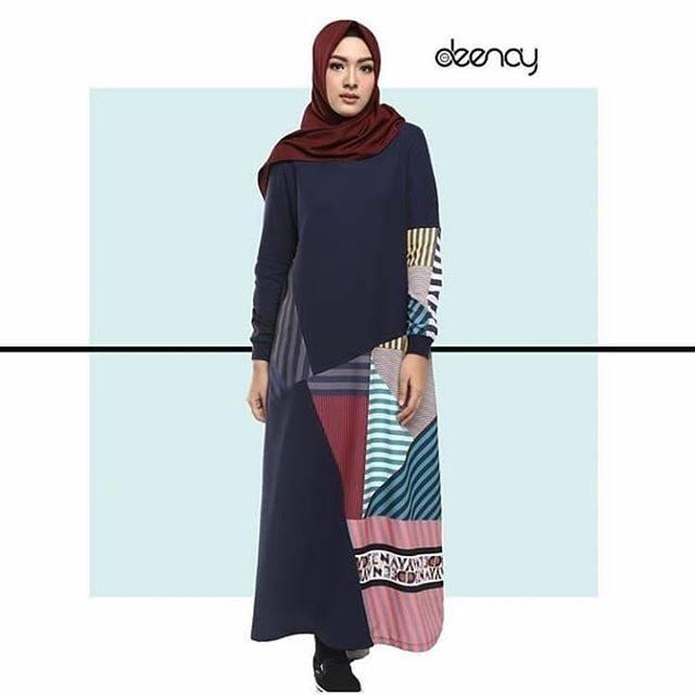 Baju Gamis Deenay Terbaru 2019 Gambar Hijab
