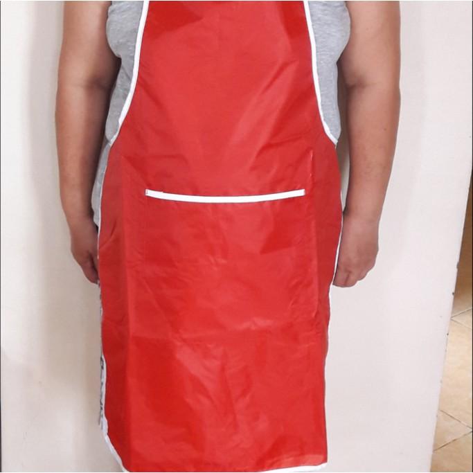 Celemek / Apron Anti Air apron masak, perlengkapan rumah, perlengkapan masak | Shopee Indonesia