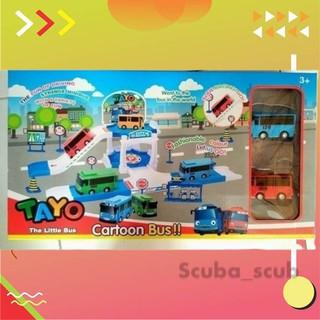 Distributor Mainan Ss1319 The Little Bus Tayo Pull Back Car Original Cito Online Lengkap Shopee Indonesia