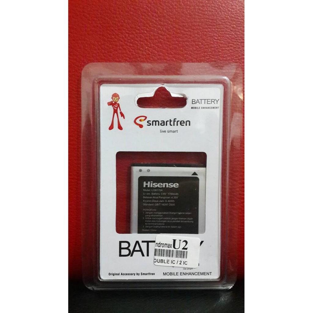 Baterai Batre Batery Smartfren Andromax U2 / Qi / E2+/ E2 PLUS Original | Shopee Indonesia