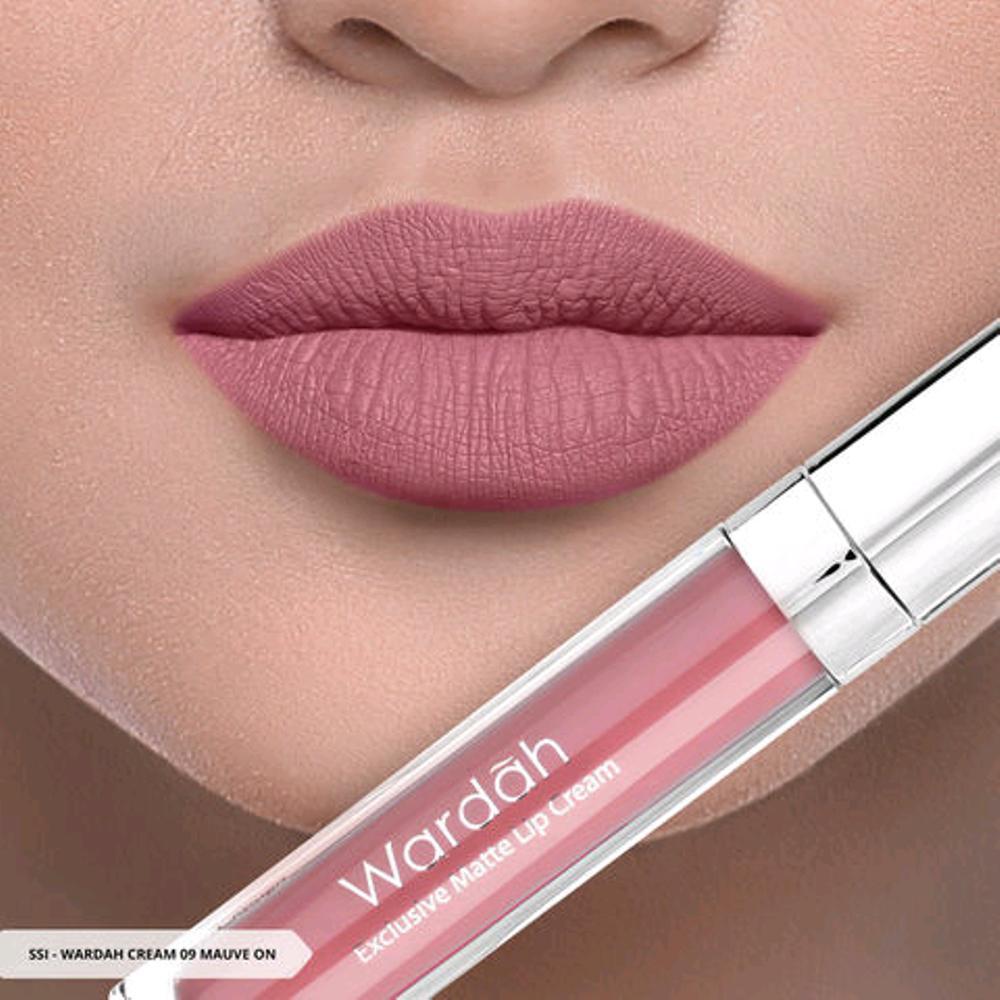 Wardah Exclusive Matte Lip Cream Original Shopee Indonesia No 8