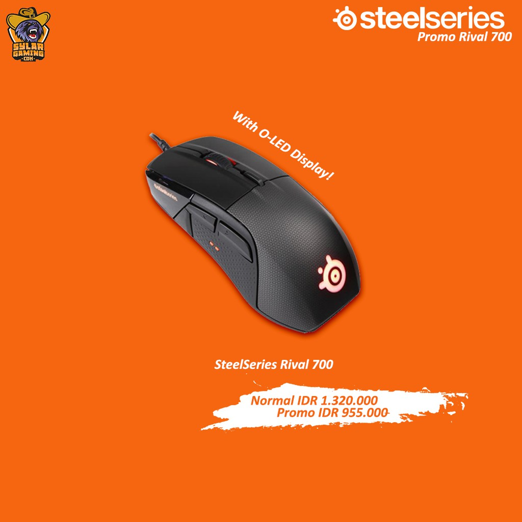 df8c0e41d94 Steelseries Rival 100 White | Shopee Indonesia