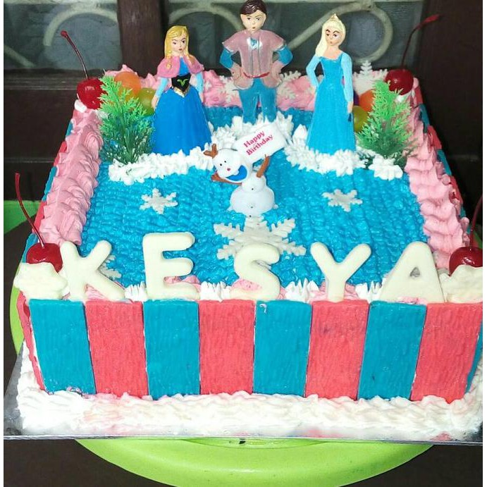 Jual Kue Ulang Tahun Frozen Birthday Cake Kue Ultah Terlaris