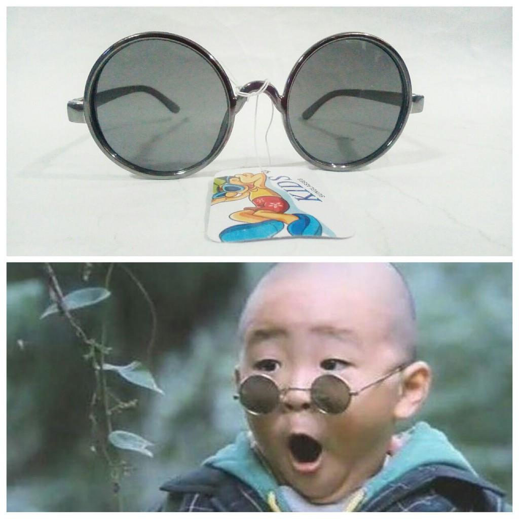 Kacamata Anak BoBoHo Unik A Bo Bo Ho Lucu Tidak Silau & Tidak Kena Debu Murah
