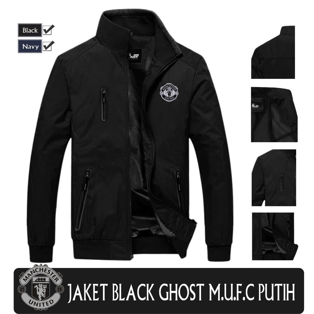 Jaket Waterproof Black Ghost Polos   Jaket Keren   Jaket Cowok   Jaket  Cewek  638a8a78fd