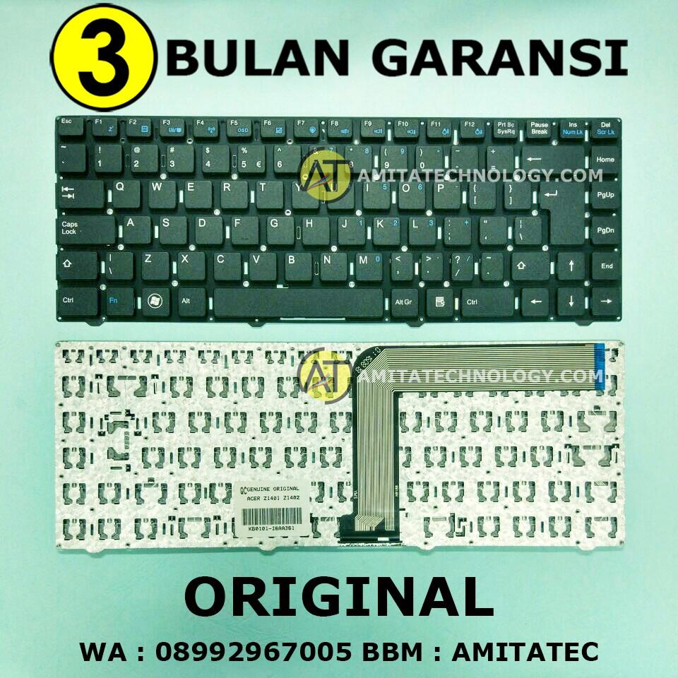 Keyboard Laptop Acer Aspire 3820t 4349 4535 4535g 4736 4738z 4739 One Zg5 Zg8 531h Ao531 D150 D250 Hitam Shopee Indonesia