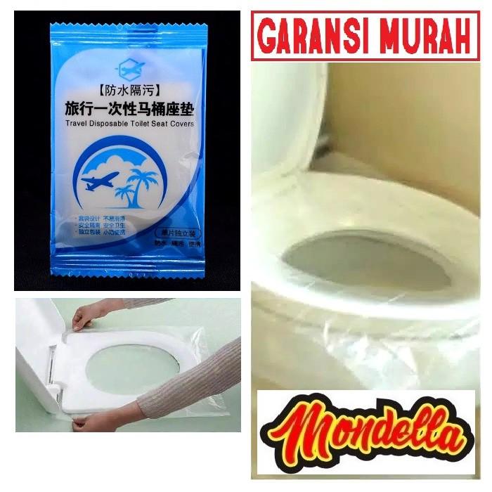 Alas Plastik Wc Toilet Closed Duduk Anti Bakteri Virus Air Pencegah Penyakit Menular Portable Closet