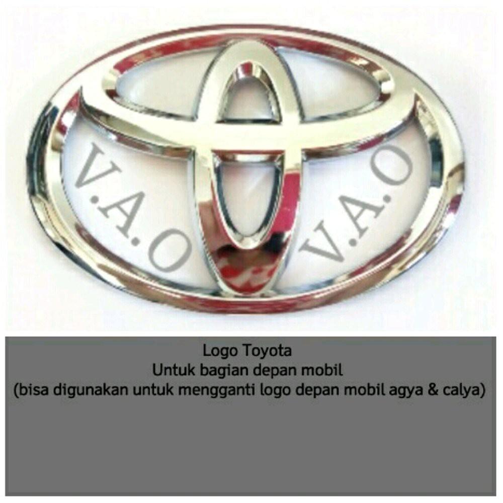 Emblem Logo Toyota Ori Shopee Indonesia