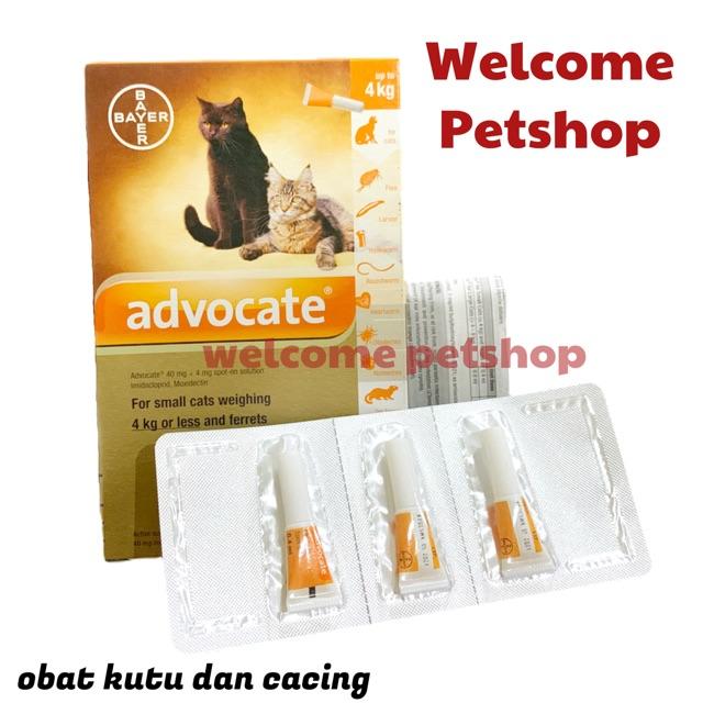 Advocate Kucing Cat Obat Kutu Kucing Obat Cacing Kucing Shopee Indonesia