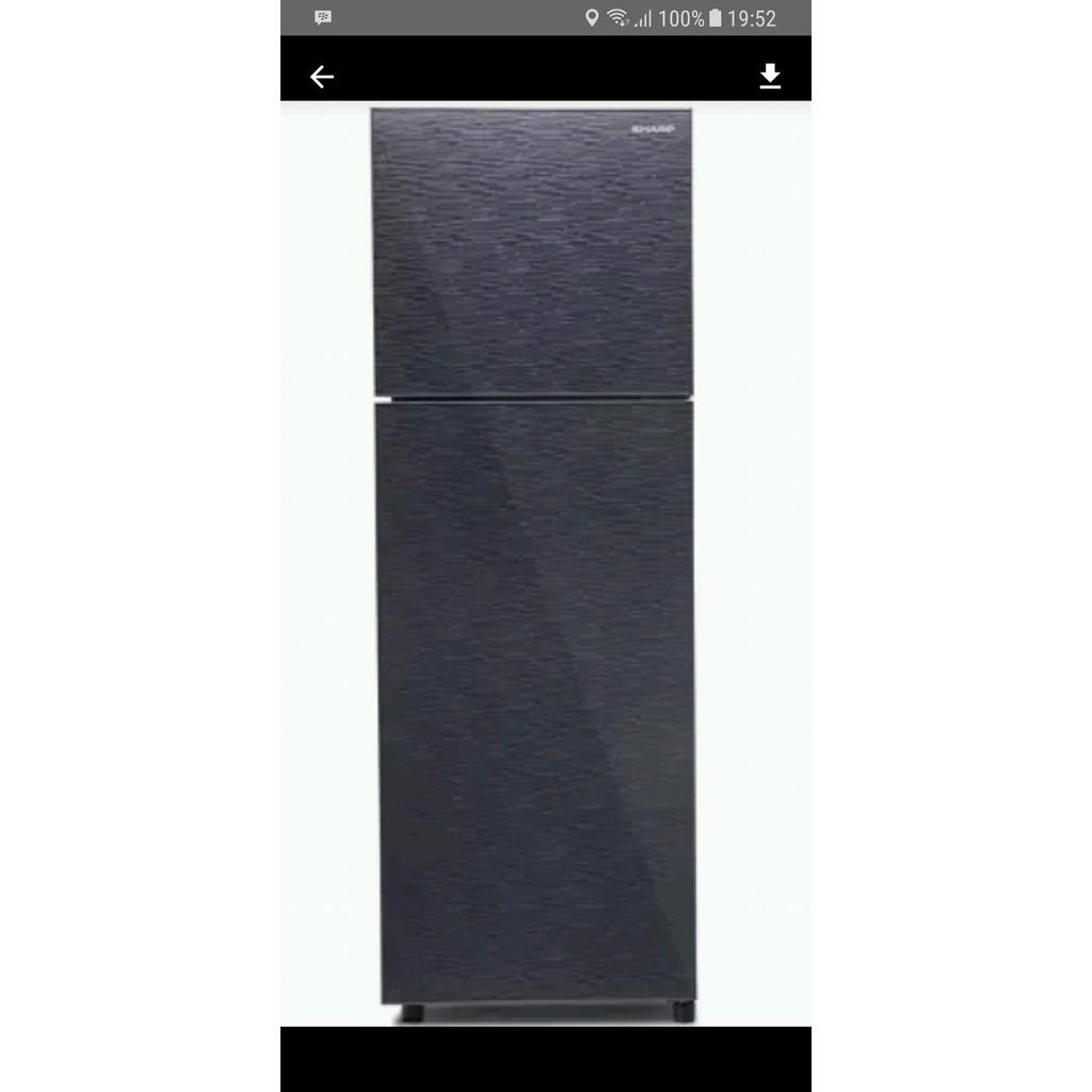 Sharp New Kirei Ii Series Sj 236nd Fw Kulkas 2 Pintu Khusus 215l Putih Fb Biru Terbaik Shopee Indonesia
