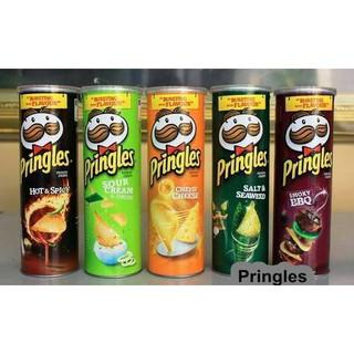 Keripik & Kerupuk Pringles Original Potato Chips. suka: .