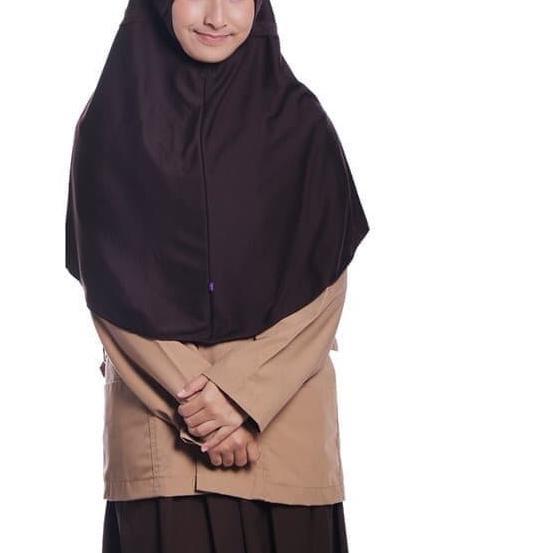 Kerudung Sekolah Jilbab Rabbani Great Innova Size L Shopee Indonesia