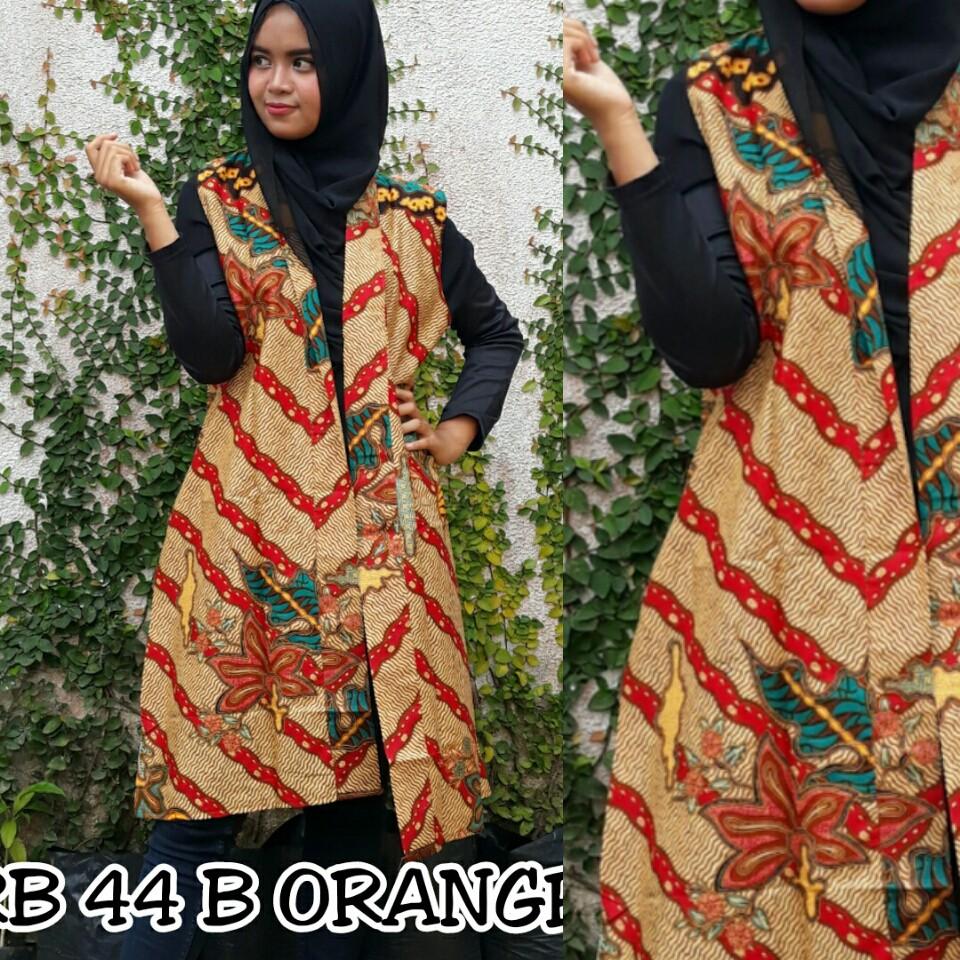 Airy Batik Blazer Wanita Atasan Cantik Modern Outer Outwear Baju Koko Bermotif Gaul Ka0037 Shopee Indonesia