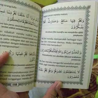 Dijual Kumpulan Surat Yasin Al Kahfi Al Waqiah Al Mulk Terjemah Latin Berkualitas