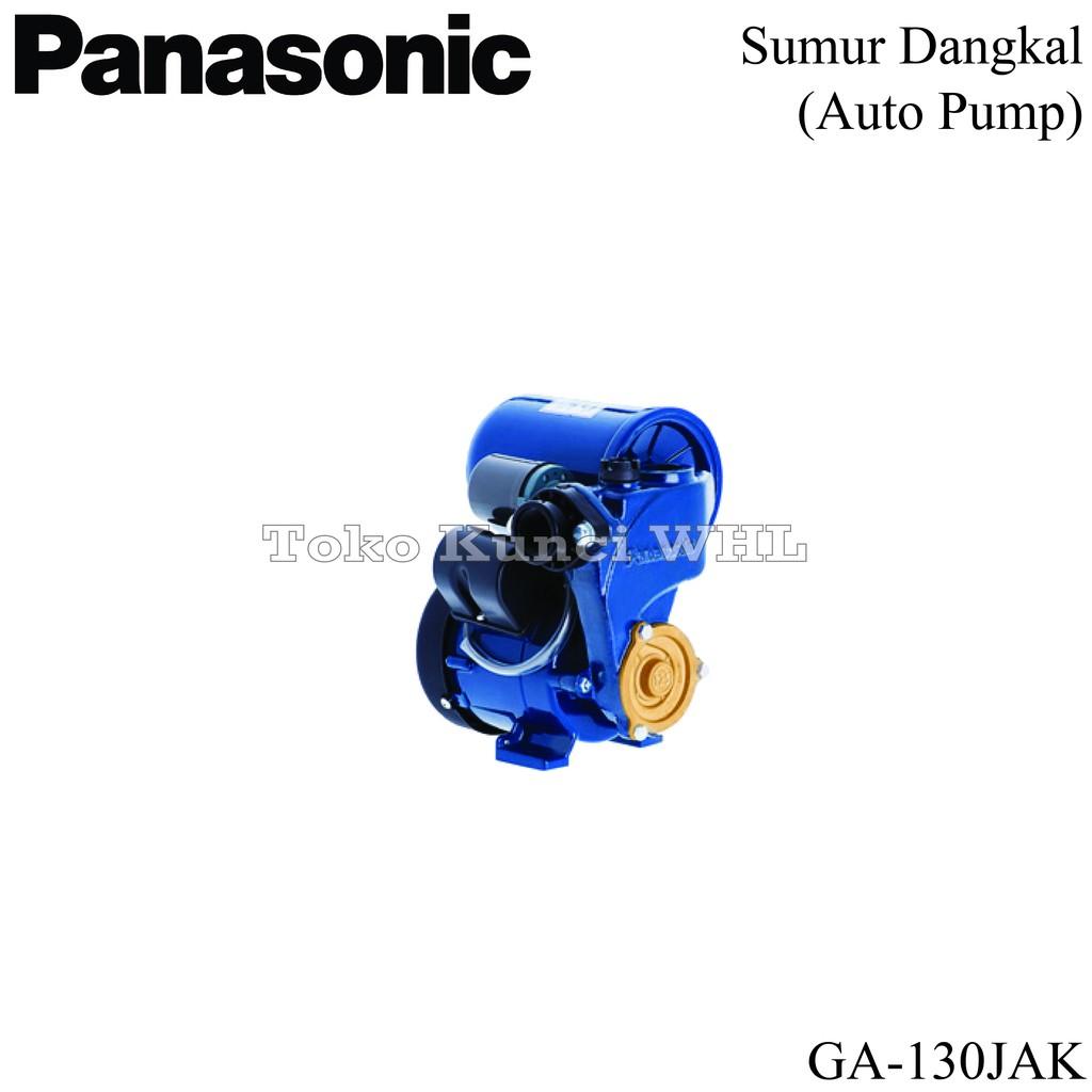 Pompa Air Panasonic Ga 130jak Sumur Dangkal Otomatis Shopee Indonesia