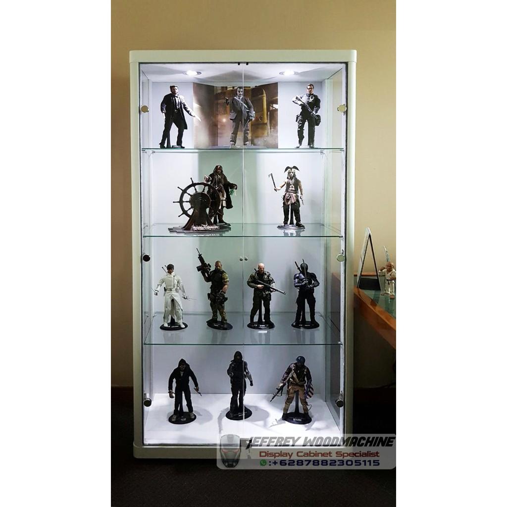 lemari pajang kaca display cabinet khusus lego  66f8db93e8