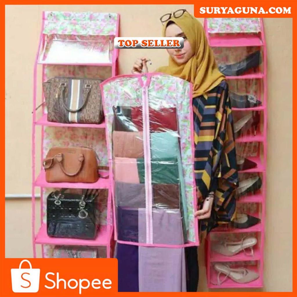 Paket Gantungan Jilbab+Gantungan Sepatu+Gantungan Murah dan sangat Minimalis