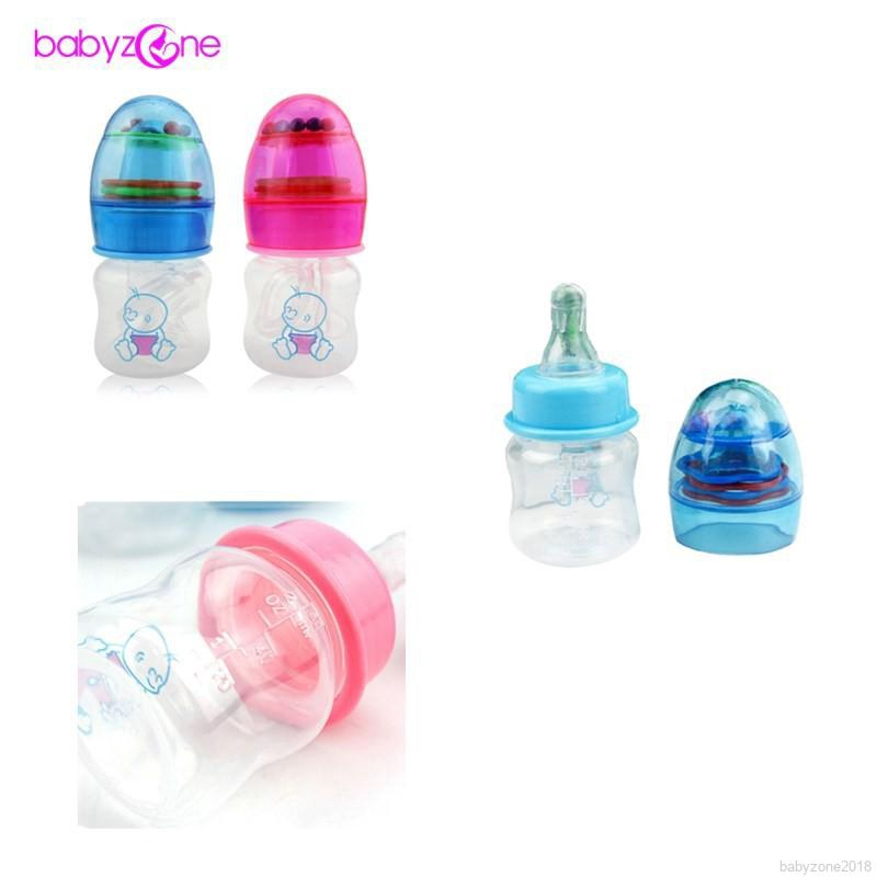 Babyzone Botol Susu Bayi 60ml dengan Pegangan + Bel