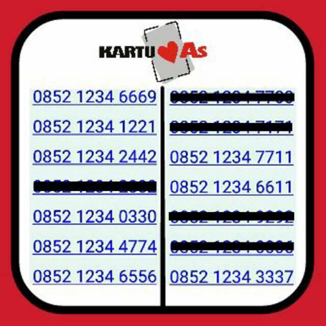 Nomor Cantik Telkomsel Kartu .