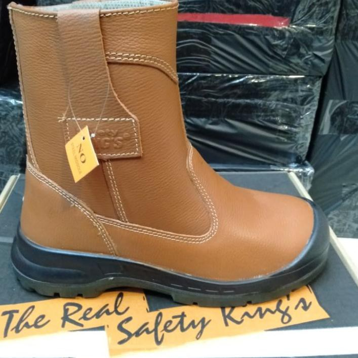 KING'S Sepatu Safety Kings 805 CX Original / Sepatu Septi Kerja Proyek Boots Pria Kulit Asli ♦♥