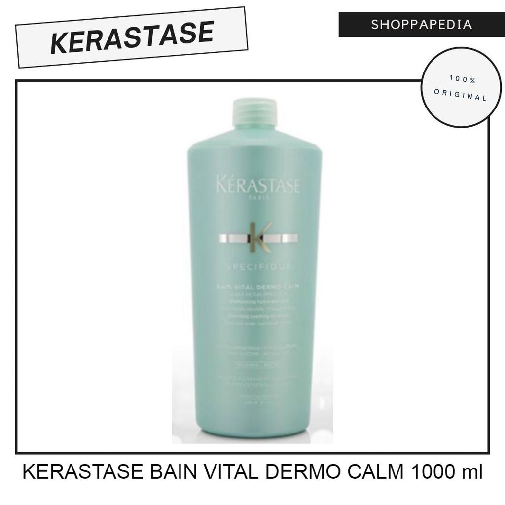 KERASTASE BAIN VITAL DERMO CALM 1000 ml ORIGINAL TERMURAH / KULIT SENSITIF