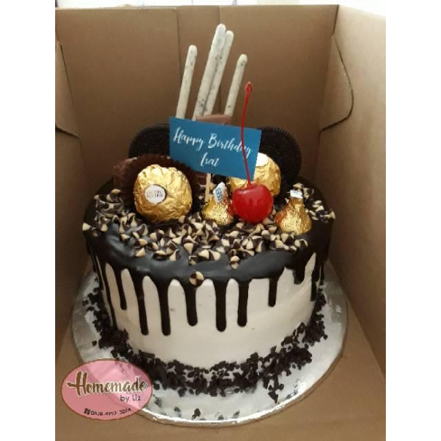 Kue Ulang Tahun Drip Cake Cikarang