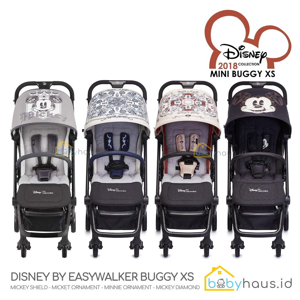 Micky Ornament Disney by Easywalker XS Buggy Compact Fold