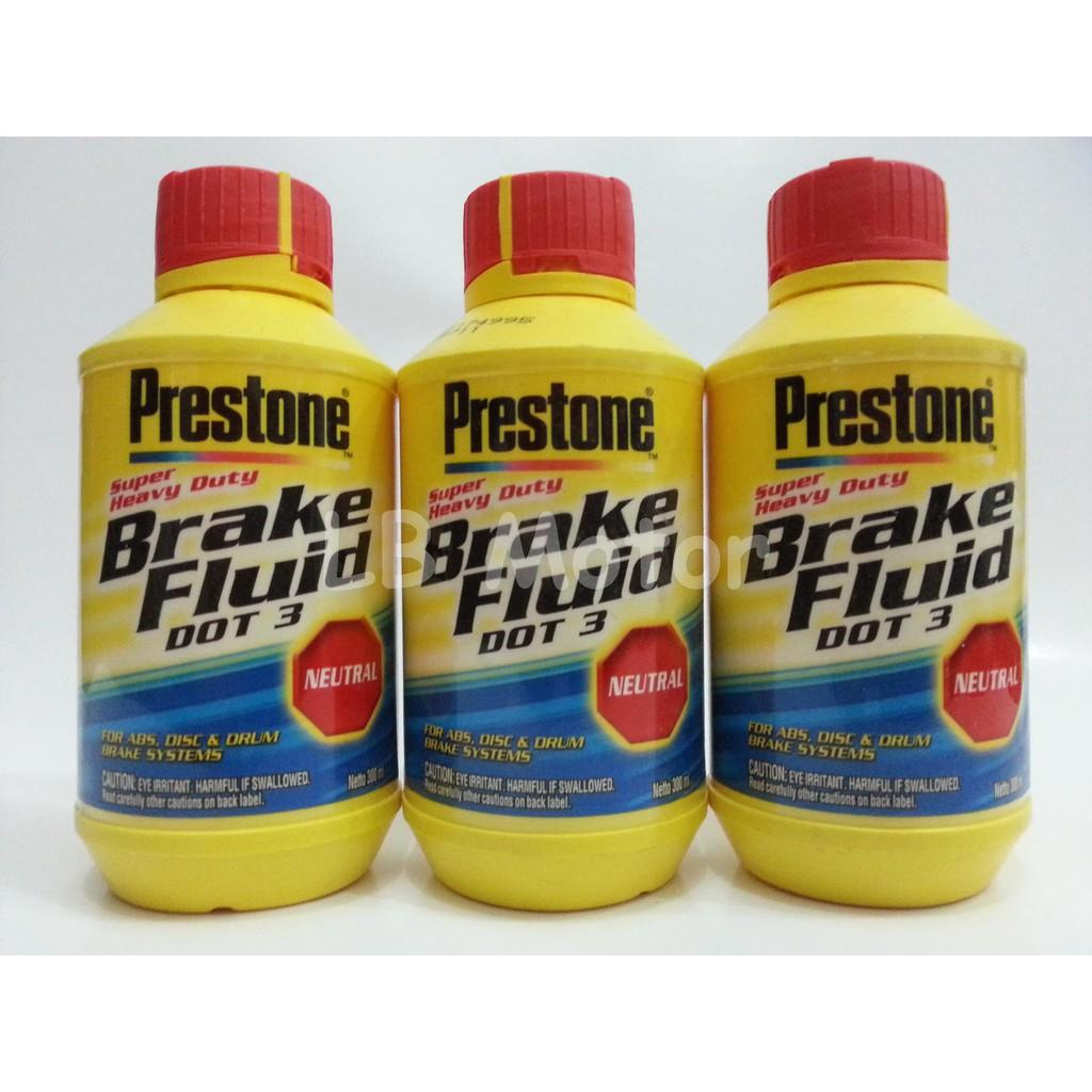 Minyak Rem Prestone 1 Liter Dot 3 Brake Fluid Cairan Mobil Seiken Netral Merah Motor Original Shopee Indonesia