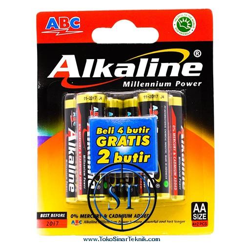 PAKET BATERAI ABC ALKALINE A2+ ALKALINE A3 BUNDLE ISI 12 BATERAI ... 1656567fa1