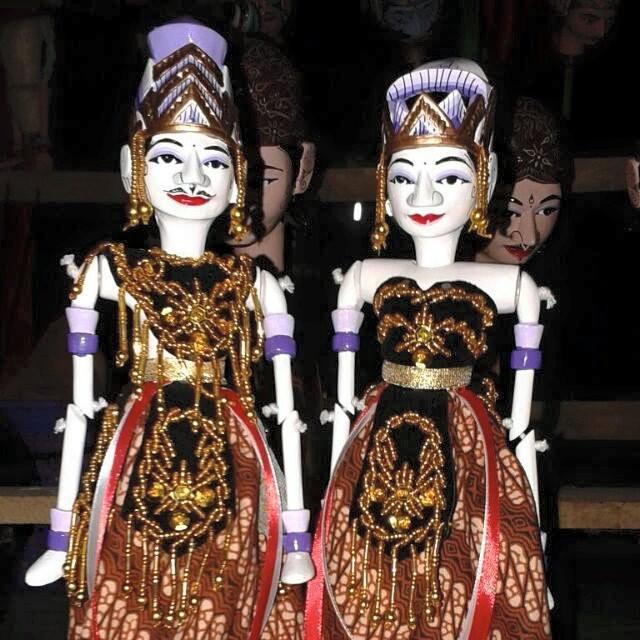 Sepasang Wayang Golek Rama Sinta Couple Shopee Indonesia