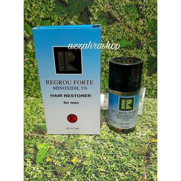 Produk Styling Rambut   Regrou Forte Minoxidil 5% - Hair Restorer- Bpom -  Atasi Rambut Rontok  9fcda4e0c4