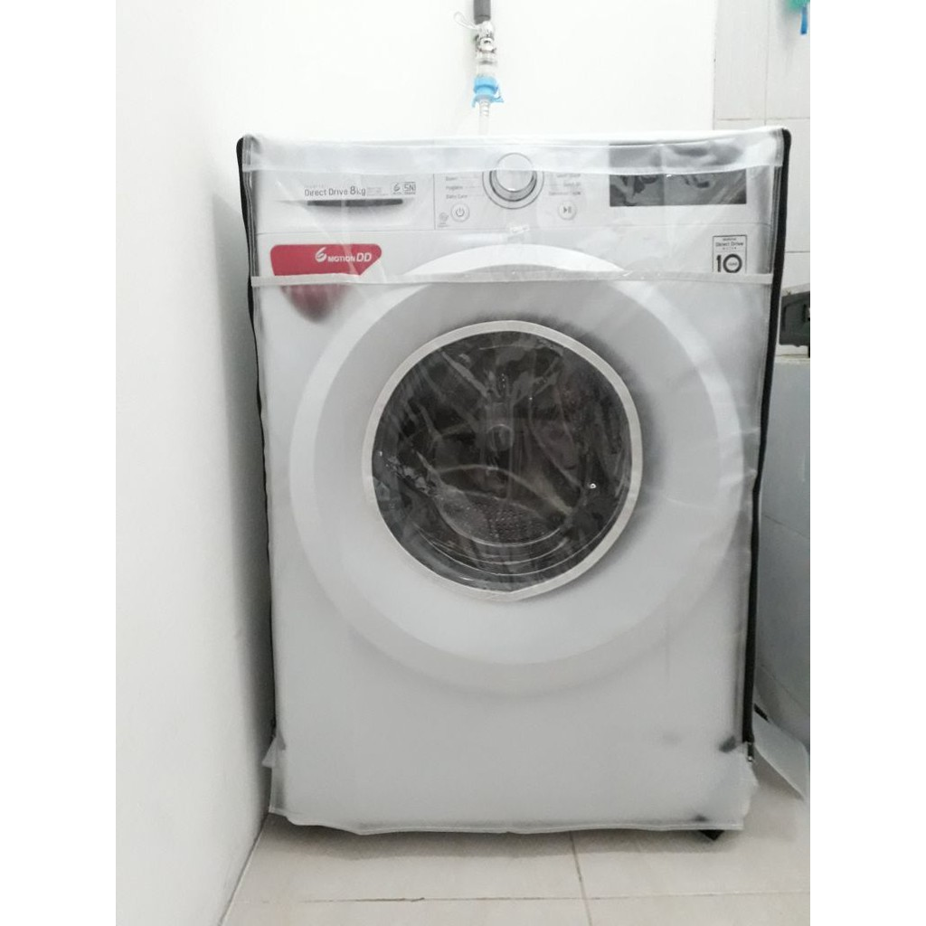 Free Shipping Lg Front Loading Washer Fc1409h3e Shopee Indonesia Samsung Ww75k5210yw