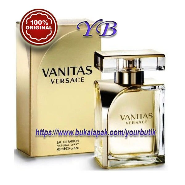 Parfum Versace Vanitas For Women Eau De Perfume 100ml Shopee Indonesia