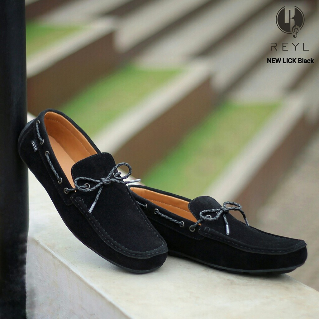 Hot Promo Drkevin Men Casual Shoes Slip On 13250 Tan Black Blue Dr Kevin 13232 Hitam 42 Shopee Indonesia