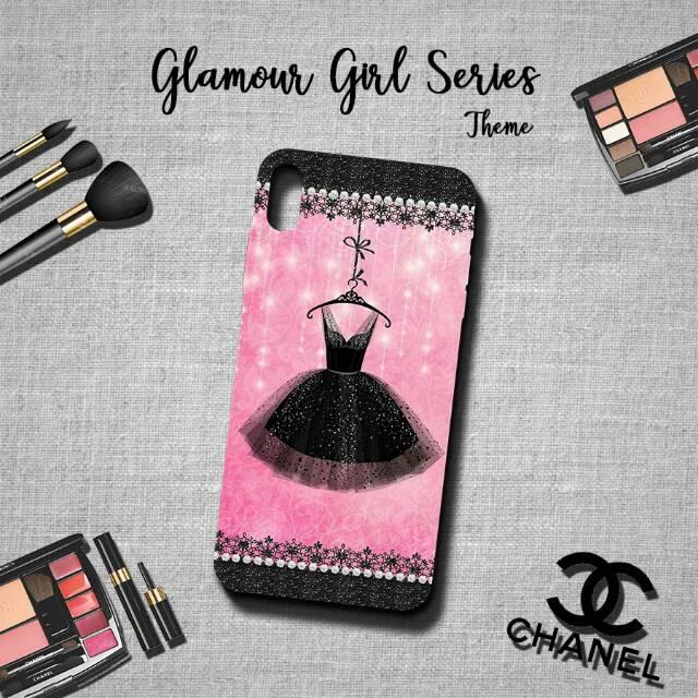 Glamour girl theme case - oppo xiaomi iphone vivo samsung infinix meizu  motorola