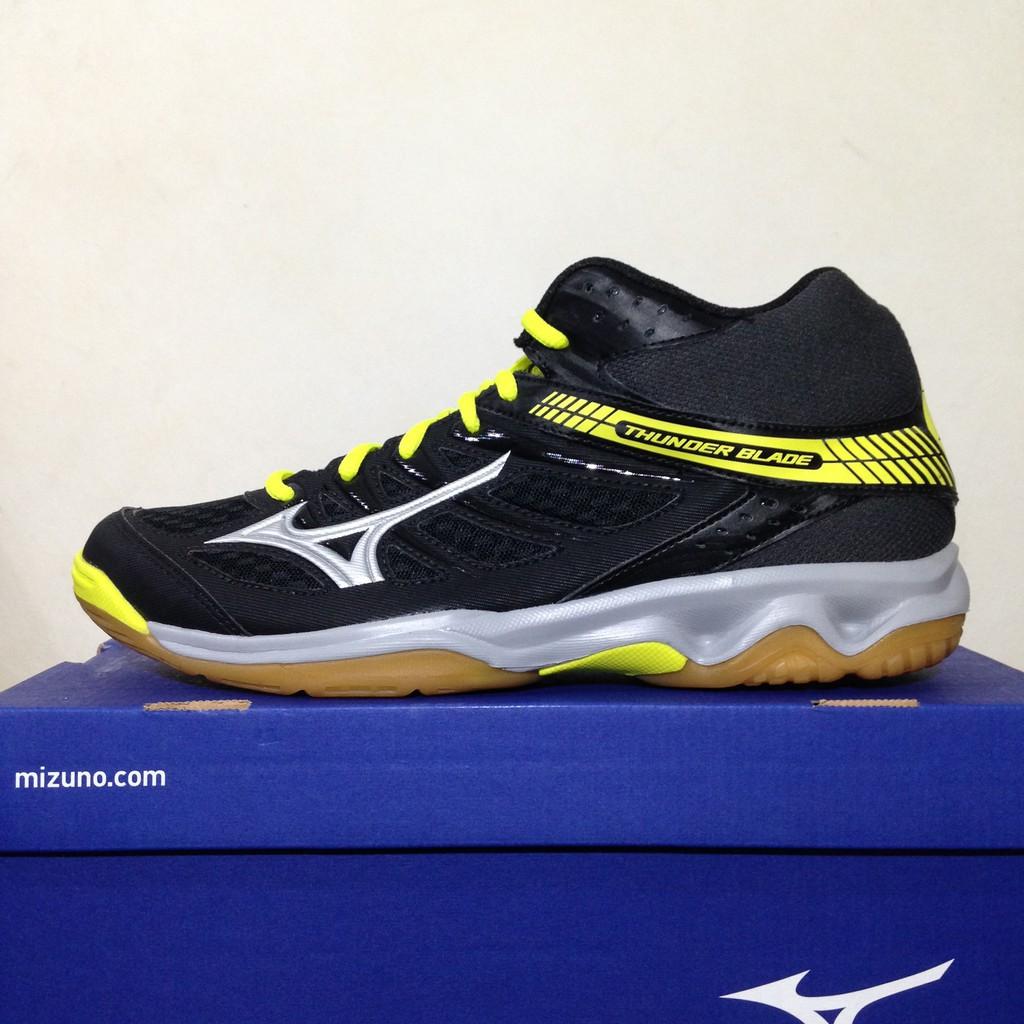 Baru SALE Sepatu Volley Mizuno Thunder Blade Black Dark Shadow V1GA177050  Original BNIB  d90afb46bc