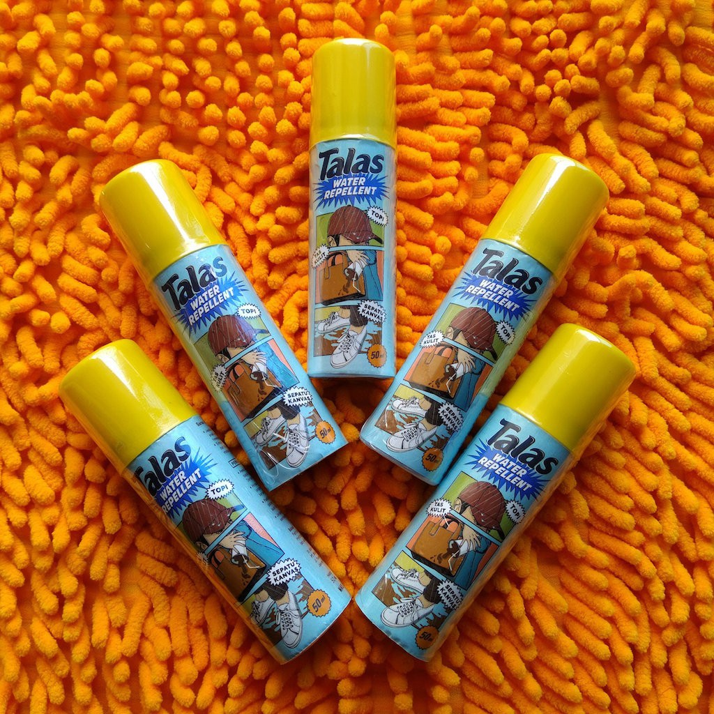 Ready Talas Waterproof Spray | Water Repellent Spray Anti Air Dan Noda 125 K 89 | Shopee Indonesia