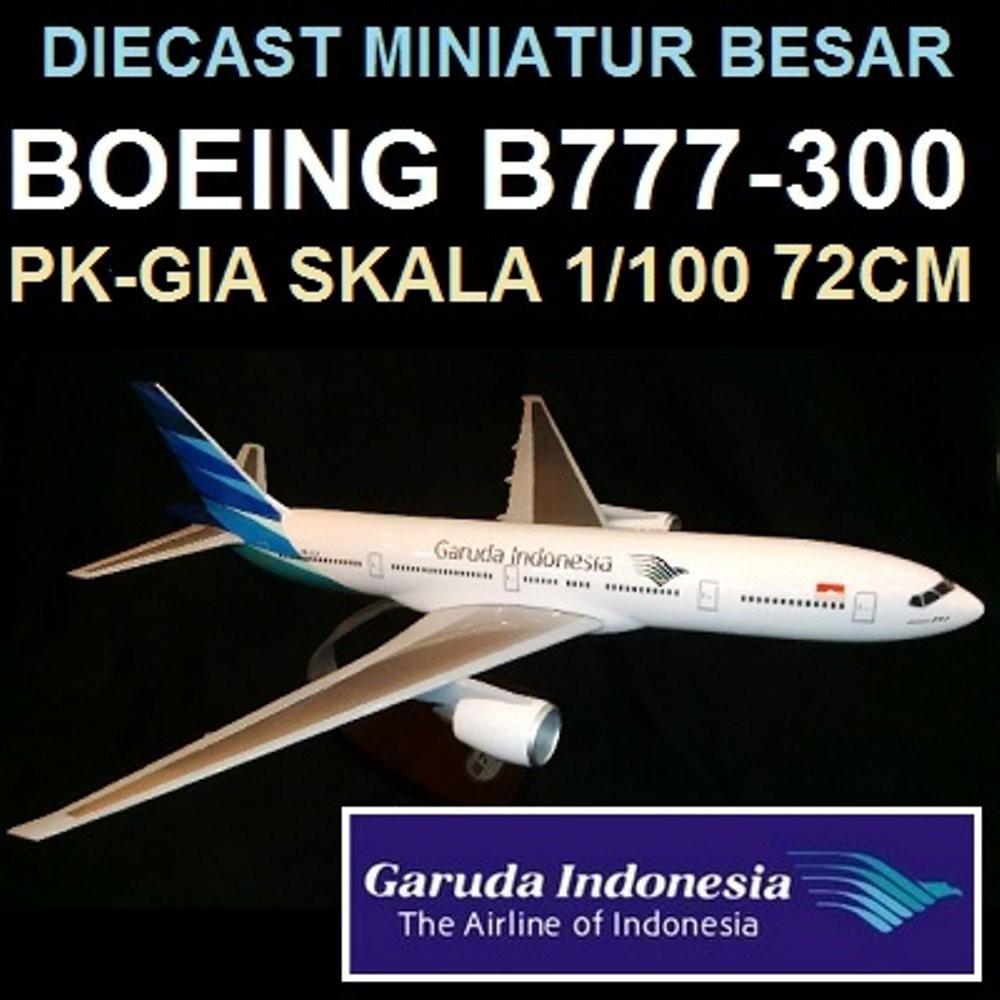 Diecast Pesawat Garuda 777 300er Skala 200 By Hogan Shopee Indonesia Obral Central Kerajinan Miniatur Terbang
