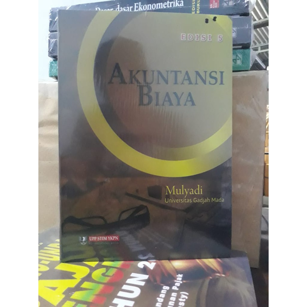 Buku Akuntansi Biaya Edisi 5 Mulyadi Shopee Indonesia