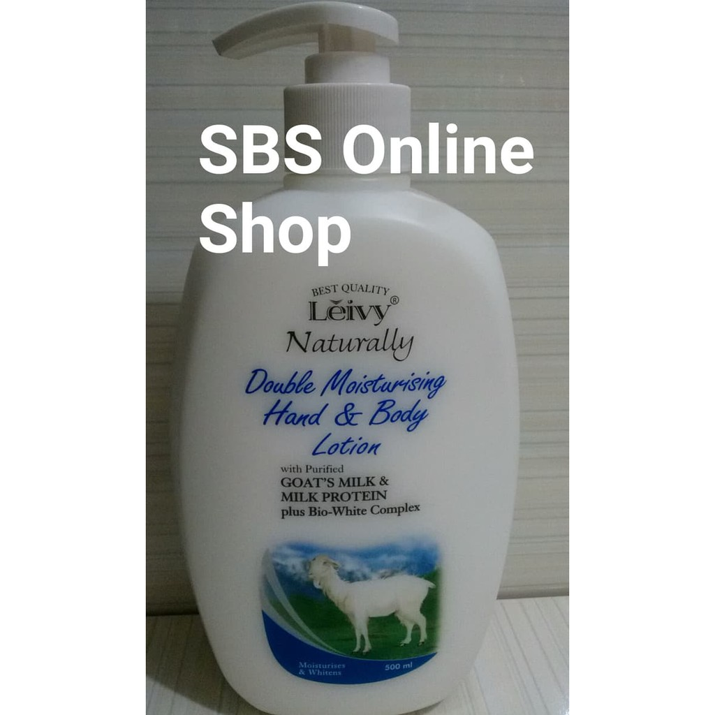 Leivy Hand Body 500 ml .
