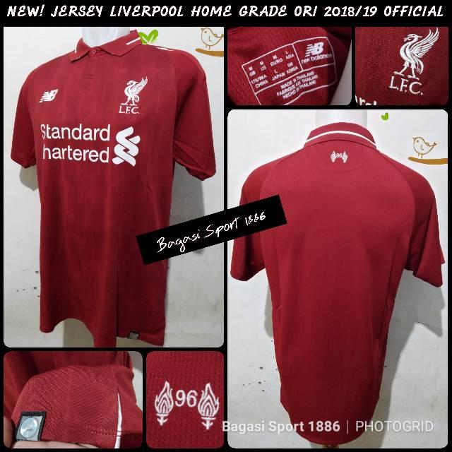 8133fd342 Kaos Jersey Sepak Bola New Balance Liverpool