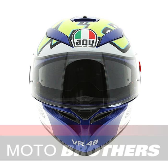 Helm Agv K3 Sv Winter Test Blue Shopee Indonesia