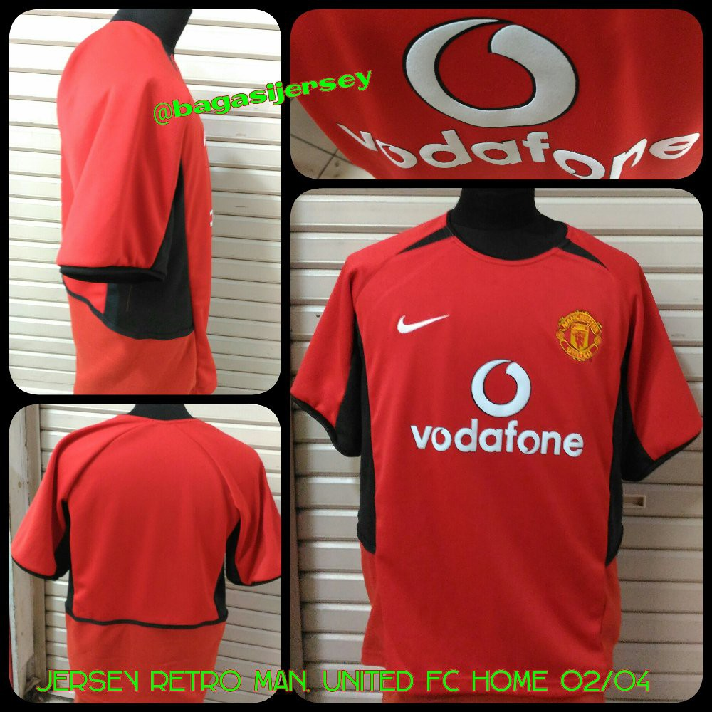 ed5714a81 Jersey Retro Manchester United (MU) FC Away 2004-2006 grab it fas ...
