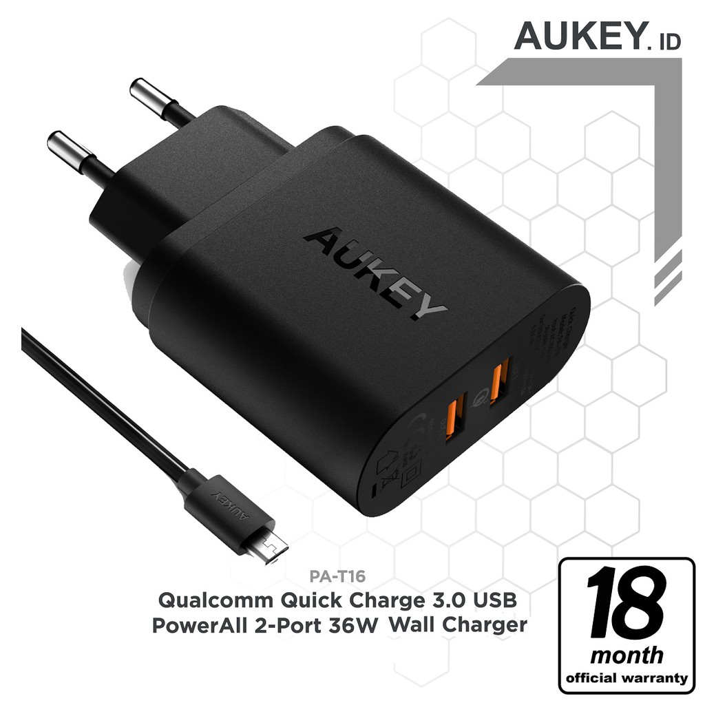 Aukey Cb D17 6 Pack Micro Usb Shopee Indonesia Am1 High Perform Nylon Cable 12 Meter Red
