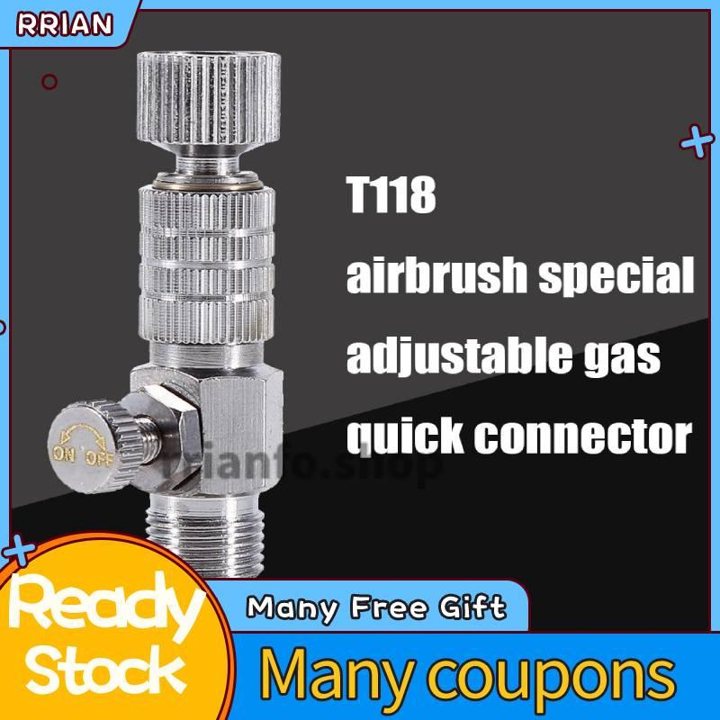 1//8  /& 1//8 Airbrush Quick Couple Release Coupler Adapter Connecter for Air Brush