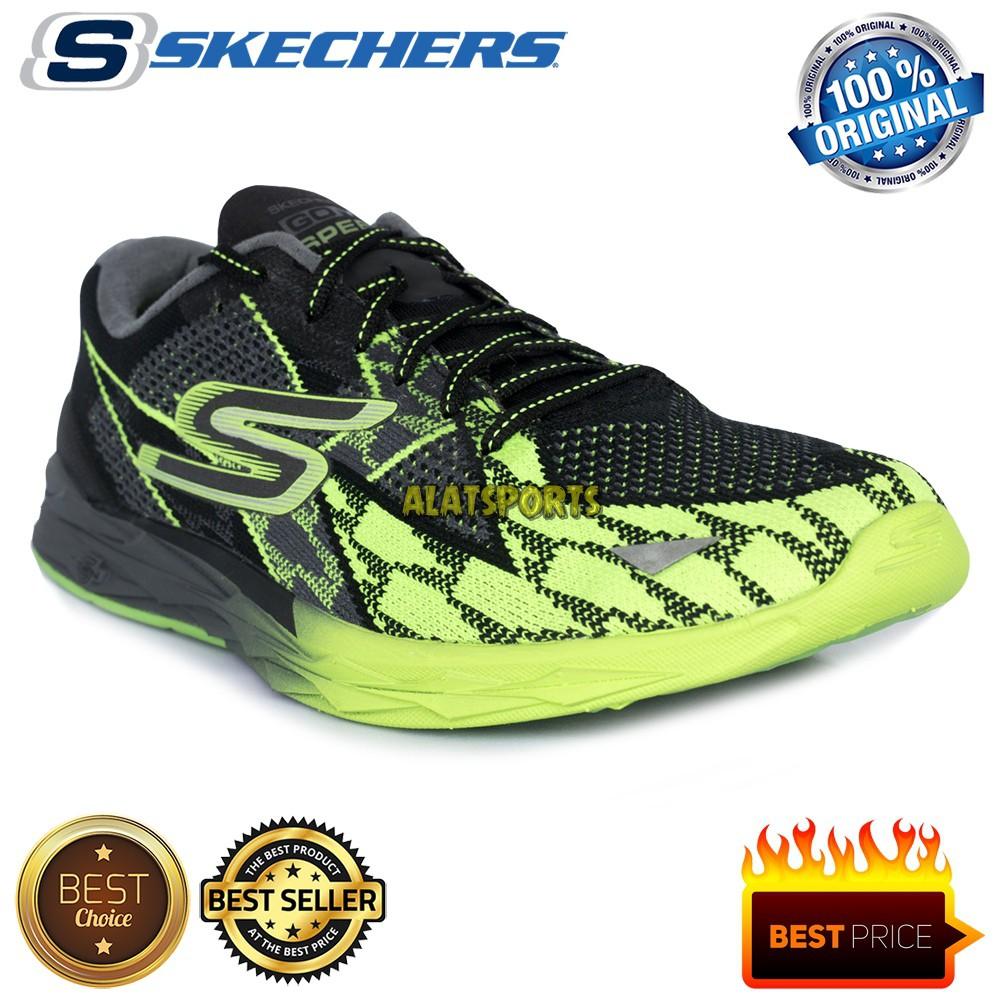 SEPATU RUNNING SKECHERS GO MEB SPEED 4 54101 BKGR ORIGINAL 136220cf34