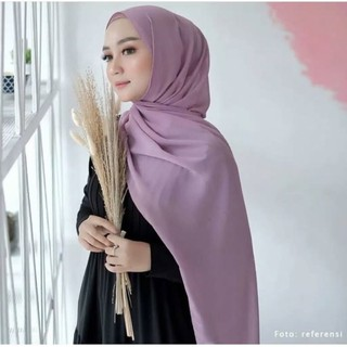 Pashmina Ceruty Babydoll Premium Pasmina Ceruti Baby Doll Warna Part 1 Shopee Indonesia