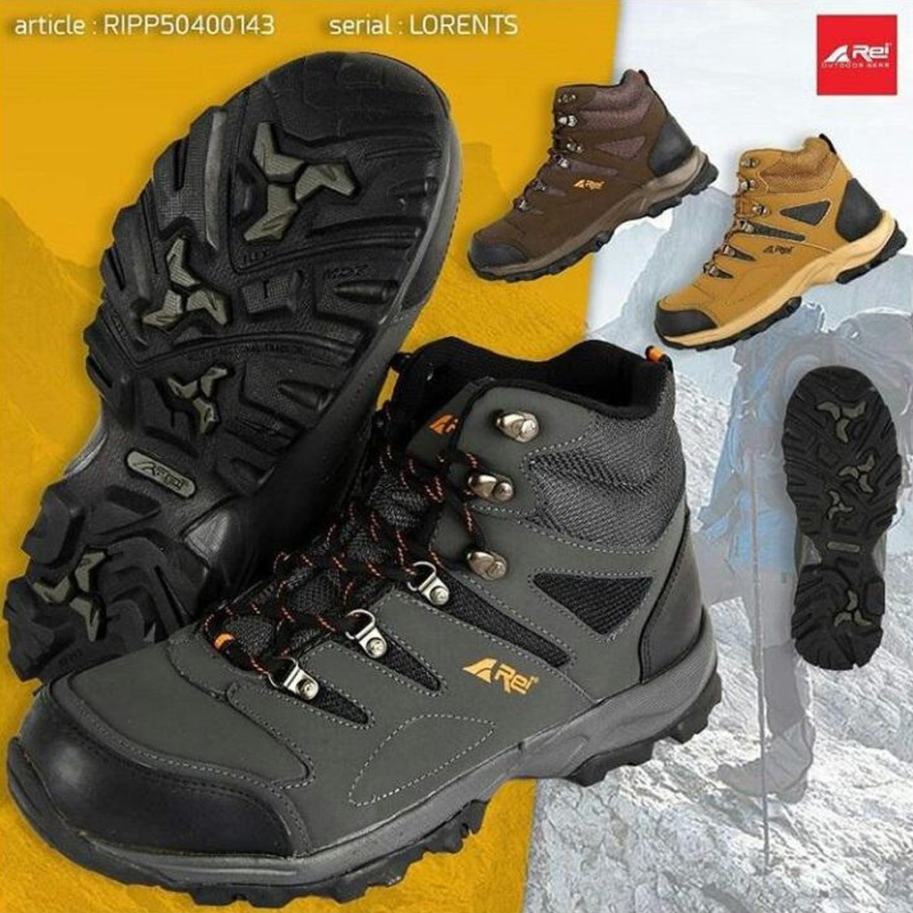 Sepatu Gunung Rei Lorent Shoes Hiking Trekking Outdoor  9421f72aa9