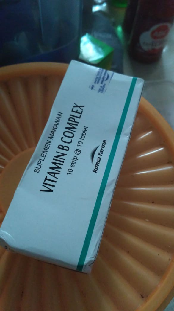 VITAMIN B COMPLEX KIMIA FARMA | Shopee Indonesia