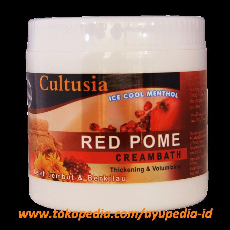 Cultusia Creambath Red Pome 500gr Shopee Indonesia